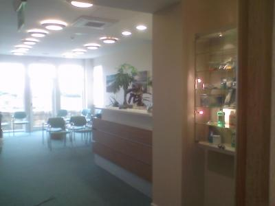 Amble Dental Practice, New Reception Area