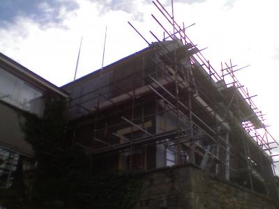 Amble Dental Practice, Creating Two Storey Extension On Pilled Foundations